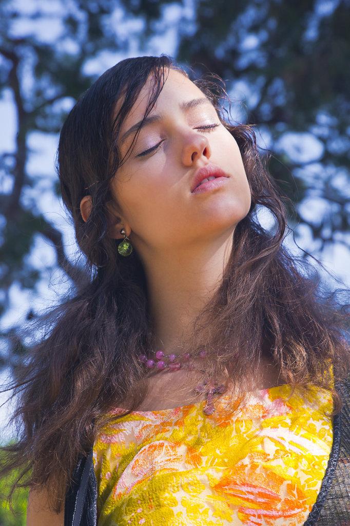 Allegra Houghton @ Wilhelmina LA photographed by Noel Baird @ Wilhelmina LA photographed by Sophie Cécile Xu