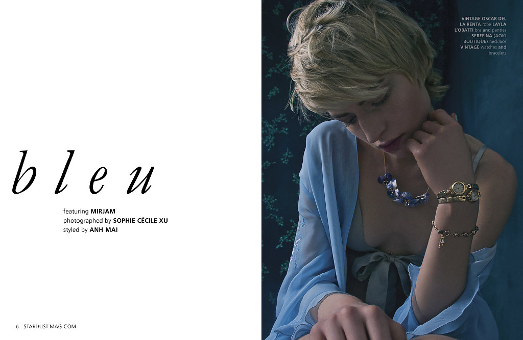Mirjam @ Re:Direct for Stardust Magazine SS2014 photographed by Sophie Cécile Xu