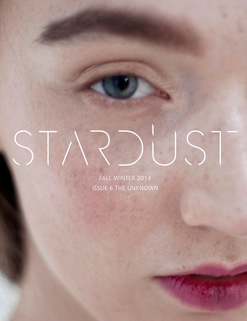 STARDUST Magazine FW2014 THE UNKNOWN photographed by Sophie Cécile Xu